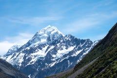 La bella vista ed il ghiacciaio in supporto cucinano National Park Fotografia Stock Libera da Diritti