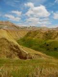 La bella vista in Sud Dakota fotografie stock