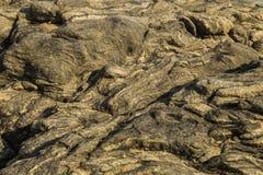 La belle érosion bascule dans le ressac de l'océan Images stock