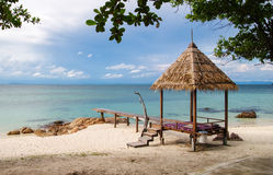 La belle île Images libres de droits