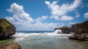 La belle île de Saipan Photo stock