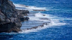 La belle île de Saipan Photo libre de droits