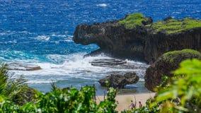 La belle île de Saipan Photos libres de droits
