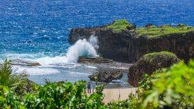 La belle île de Saipan Images stock