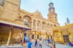 La belle architecture du Caire médiéval, Egypte image libre de droits