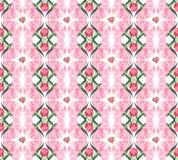 La belle composition florale de fines herbes graphique abstraite tendre colorée merveilleuse de l'les pivoines roses avec le vert Photo stock