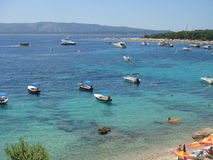La belle Croatie Photo stock