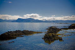 La belle Ecosse de Skye Photo libre de droits