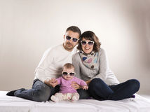 Petite famille Images stock