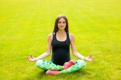 La belle femme enceinte Photographie stock libre de droits