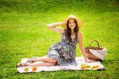 La belle femme enceinte Photographie stock