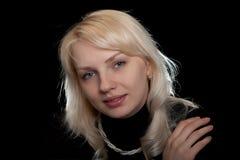 La belle fille avec programmes Photo stock