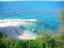 La belle mer de l'été Photo libre de droits