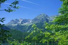 La belle nature de montagne des Alpes italiens Photo libre de droits