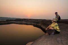 La belle photo de Sam Phan Bok Photographie stock libre de droits