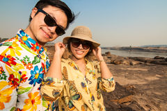 La belle photo de Sam Phan Bok Photo stock