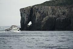 La belle roche ressemble à un éléphant photos stock