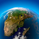 La belle terre - Afrique du Sud Photo stock