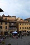 La belle ville de Cortona en Toscane images stock