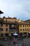 La belle ville de Cortona en Toscane image libre de droits