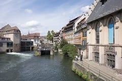 La belle ville de Strasbourg Photos stock