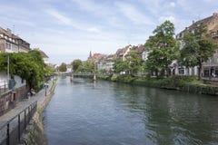 La belle ville de Strasbourg Image libre de droits