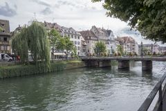 La belle ville de Strasbourg Photographie stock libre de droits