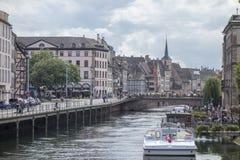 La belle ville de Strasbourg Photo libre de droits