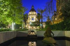 La belle ville hôtel de Pasadena près de Los Angeles, la Californie images stock