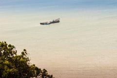 La belle vue de Khao-Khad regarde la tour, touristes peut apprécier le Th Images stock
