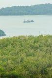 La belle vue de Khao-Khad regarde la tour, touristes peut apprécier le Th Photographie stock libre de droits