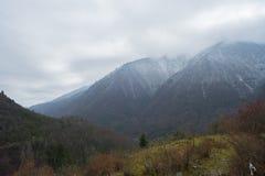 La belle vue de la vallée dans la zone tibétaine Photo stock