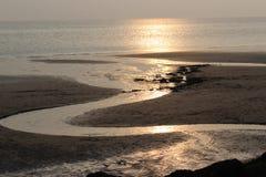La belle vue du voient dans Conwy photos libres de droits
