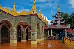 La belleza asombrosa de la pagoda Sutaungpyei deseo-que satisface literalmente Fotos de archivo libres de regalías