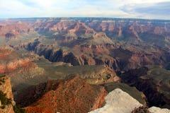 La belleza cruda de Grand Canyon Foto de archivo libre de regalías