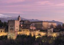 La belleza de la gema de Granada Foto de archivo libre de regalías