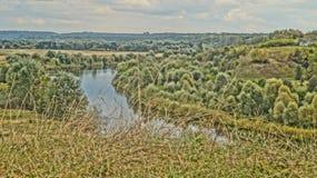 La belleza de la naturaleza ucraniana en otoño imagen de archivo