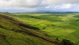 La belleza de Terceira, Azores Foto de archivo libre de regalías