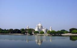 La belleza de Victoria Memorial, Kolkata foto de archivo libre de regalías