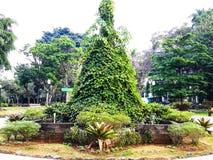 La belleza del cuadrado de ciudad de Bogor fotografía de archivo
