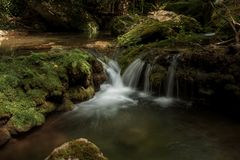 La belleza del río foto de archivo