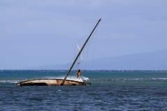 La belleza escénica de las islas hawaianas - Maui Imagen de archivo libre de regalías
