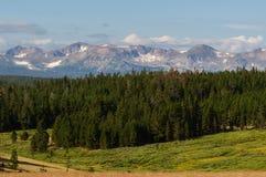 La belleza escénica del Colorado Rocky Mountains Imágenes de archivo libres de regalías