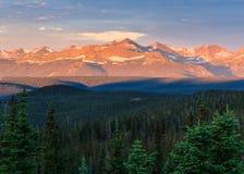 La belleza escénica del Colorado Rocky Mountains Imagen de archivo libre de regalías