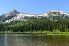La belleza escénica del Colorado Rocky Mountains Fotos de archivo libres de regalías