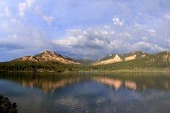 La belleza real del lago pine Fotografía de archivo