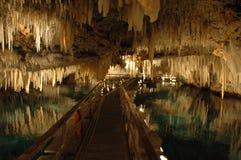 La belleza subterráneo de Bermudas Imagen de archivo