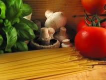 La bellezza degli ingredienti naturali Fotografia Stock Libera da Diritti