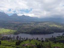 La bellezza del Kerala imballata in una foto fotografie stock libere da diritti