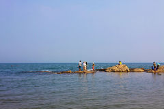 La bellezza del mare Fotografia Stock